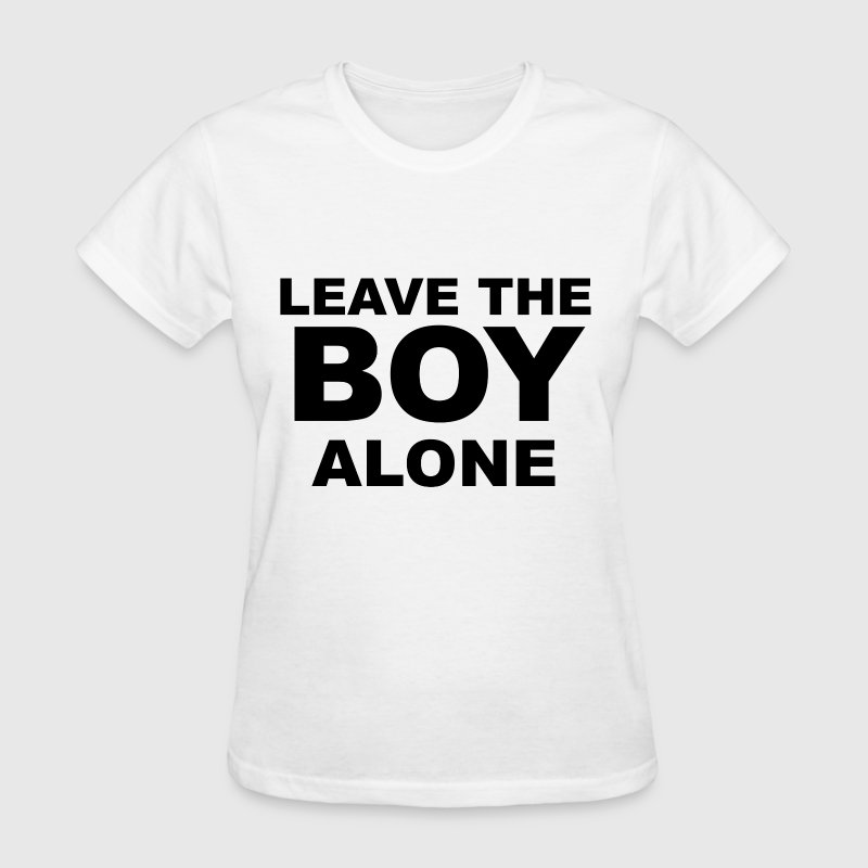 Leave the boy alone - Women's T-Shirt