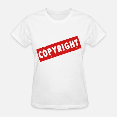 Copyrights Copyright - Women's T-Shirt