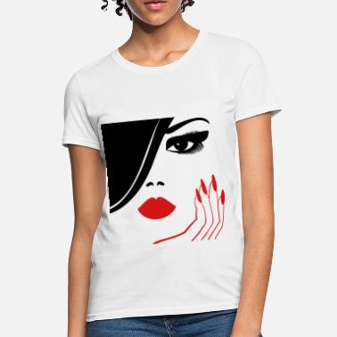 Artist Girl Makeup - Women's T-Shirt