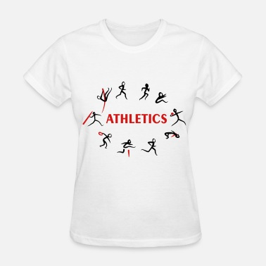 Field Athletics, Track and Field, Decathlon - Women's T-Shirt