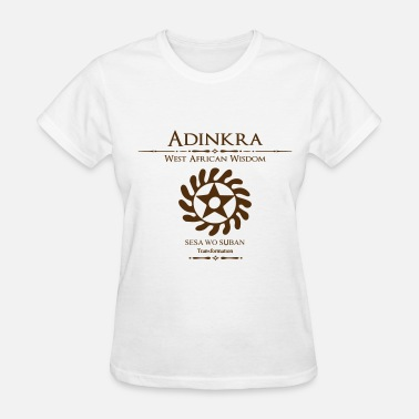 Adinkra Symbols Adinkra-Transformation - Women's T-Shirt