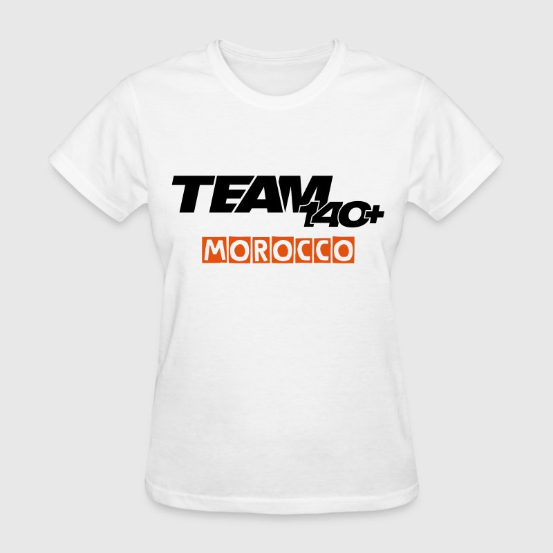 Team 140+ Morocco | IPhone 6/6S Rubber Case - Women's T-Shirt