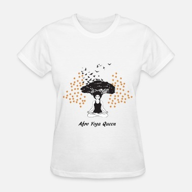 Best Queen Best Selliing Afro Yoga Queen - Women's T-Shirt