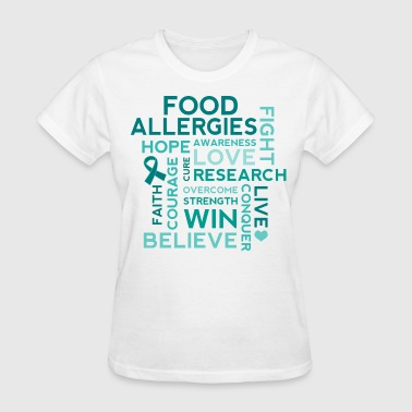 Food Allergies Food Allergy Awareness Allergies - Women's T-Shirt