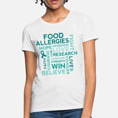 Allergy Food Allergy Awareness Allergies - Women's T-Shirt
