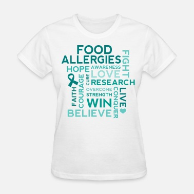 Food Allergy Food Allergy Awareness Allergies - Women's T-Shirt