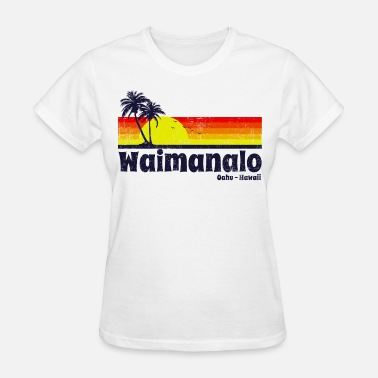 Oahu Hawaii Beach Waimanalo Oahu Hawaii - Women's T-Shirt