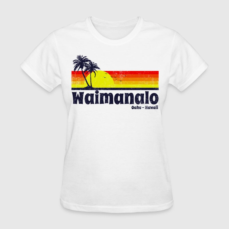 Waimanalo Oahu Hawaii - Women's T-Shirt