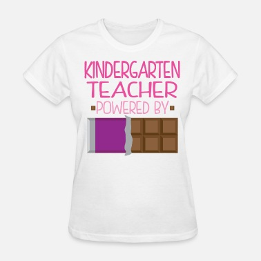 Candy Bar Kindergarten Teacher Funny Chocolate - Women's T-Shirt