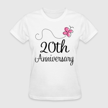20th Anniversary Gift Idea - Women's T-Shirt