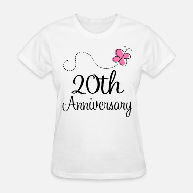 20th Anniversary 20th Anniversary Gift Idea - Women's T-Shirt