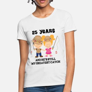a957d9c8 25th Wedding Anniversary Funny 25th Anniversary - Women's ...