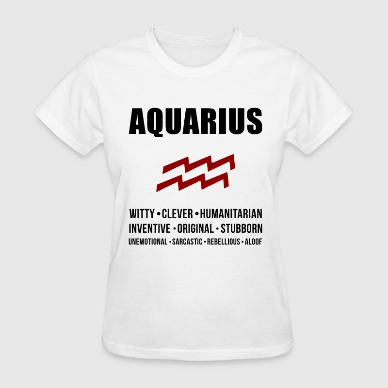 Aquarius Personality - Women's T-Shirt