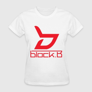 Block B Logo Red Ver. - Women's T-Shirt