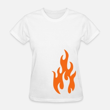 Shape flames 1 - Women's T-Shirt