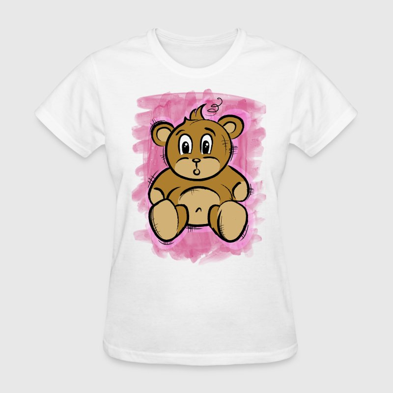 teddy bear.png - Women's T-Shirt