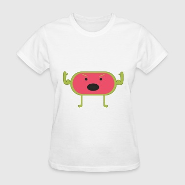 Angry Laugh Angry Watermelon - Women's T-Shirt