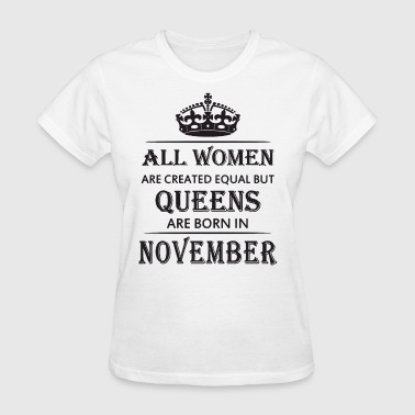 Breast Taurus All women are created equal but queens are born in - Women's T-Shirt