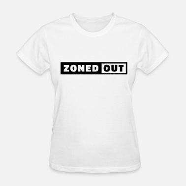 Zoned Out Zoned Out - Bright - Women's T-Shirt