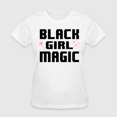 Magical Girl black girl magic - Women's T-Shirt