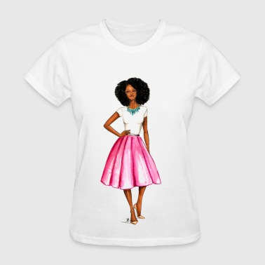 African American Naptural Sister - Women's T-Shirt