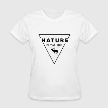 Nature Lovers Nature lover - Nature is calling - Women's T-Shirt