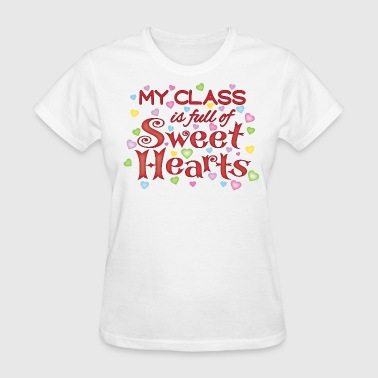 Class full of Sweet Hearts - Women's T-Shirt
