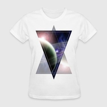 space triangle - Women's T-Shirt