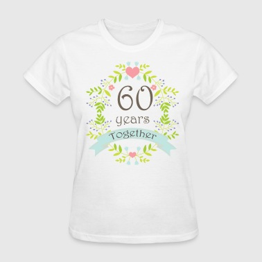 60th Wedding Anniversary Gift - Women's T-Shirt