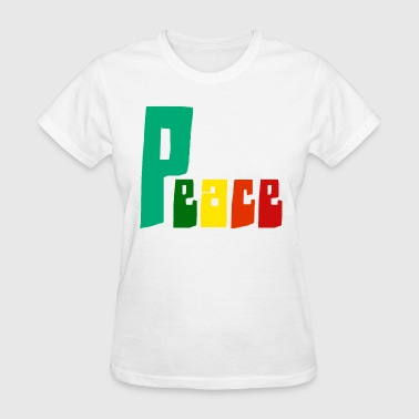 PEACE RAINBOW - Women's T-Shirt