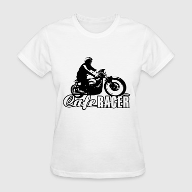 cafe racer vintage motorcycle biker - Women's T-Shirt