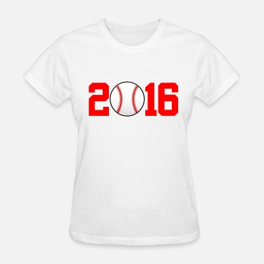 Mlb 2016 Baseball red - Women's T-Shirt