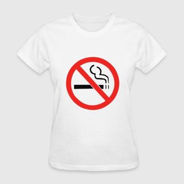 No Smoking Anti - Women's T-Shirt