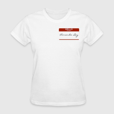 Amanda amanda_lay - Women's T-Shirt