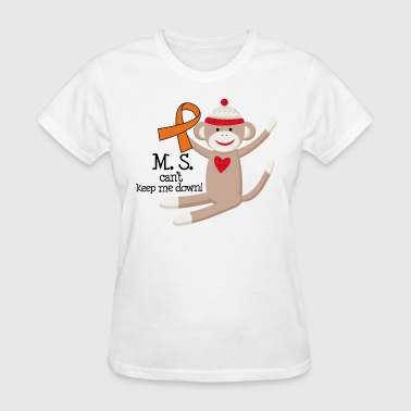 Multiple Sclerosis MS Message - Women's T-Shirt