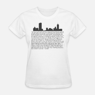 I Love Boston Awesome I Am Boston - Women's T-Shirt