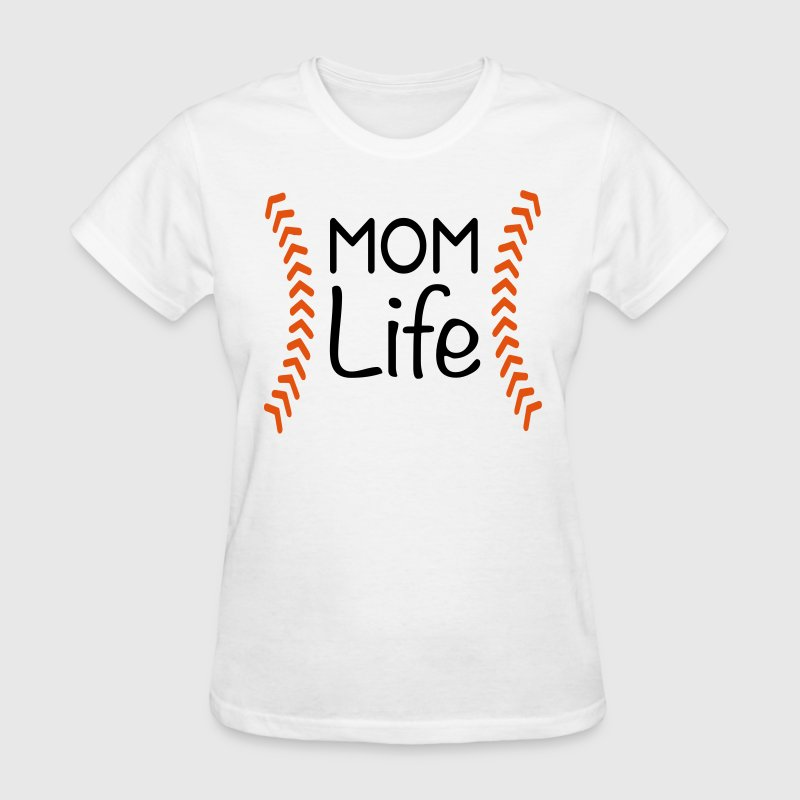 Kreative In Kinder Mom Life Baseball - Women's T-Shirt