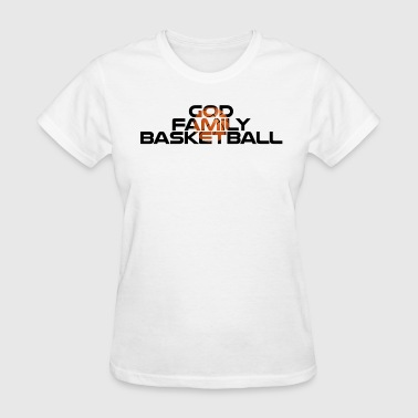 God Family Basketball - Women's T-Shirt