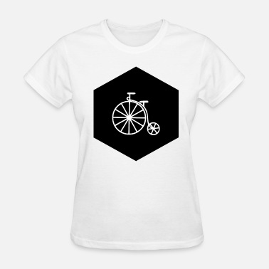 Penny Farthing HIPSTER PENNY FARTHING (b) - Women's T-Shirt