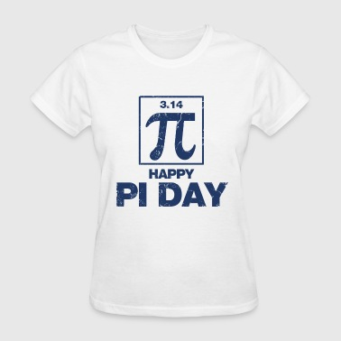 happy_pi_day - Women's T-Shirt