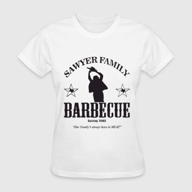 Sawyer Family Barbecue Texas Chainsaw Massacre Bbq - Women's T-Shirt