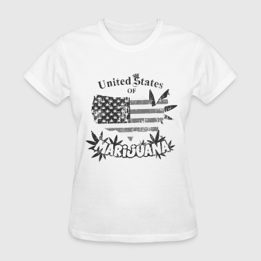 US of Marijuana  vintage nb - Women's T-Shirt