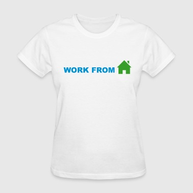 Work From Home (Symbol) - Women's T-Shirt