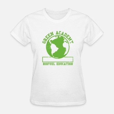 Faded Green Green Academy Biofuel Faded - Women's T-Shirt