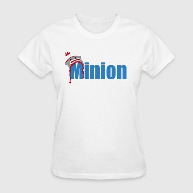 Minion (dark blue) - Women's T-Shirt