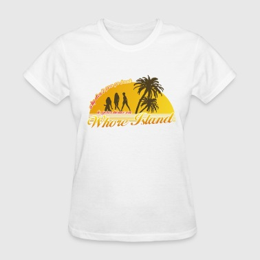 Anchorman Whore Island - Women's T-Shirt