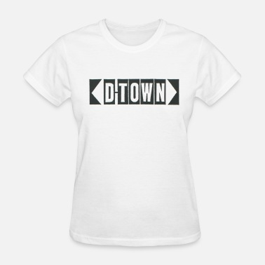 D-town Records D-Town Records Original Logo - Women's T-Shirt
