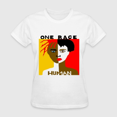 Shows respect for the human race. - Women's T-Shirt