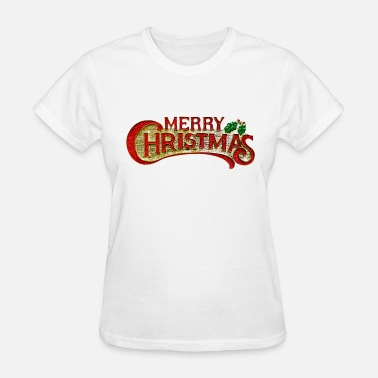 Grinch Swag Merry Christmas mistletoe sign design - Women's T-Shirt