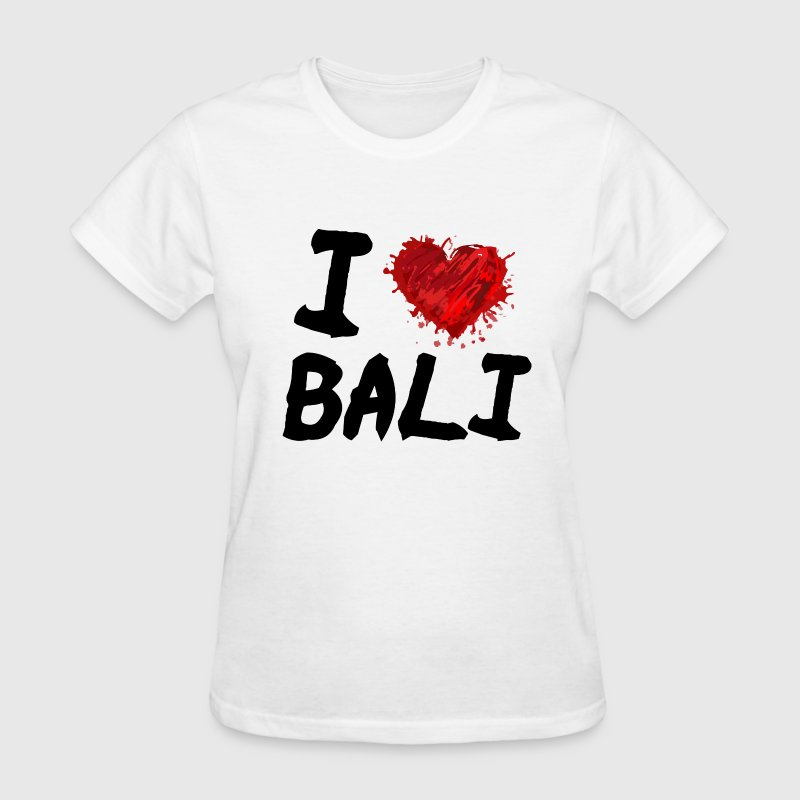 I Love Bali - Women's T-Shirt